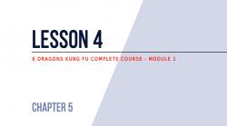 Lesson 4 – Kicks