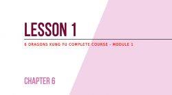 Lesson 1 - Flexibility training