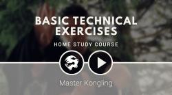 Fabric Cloth Training execution level 1 – Basic 6 Dragons Kung Fu exercises