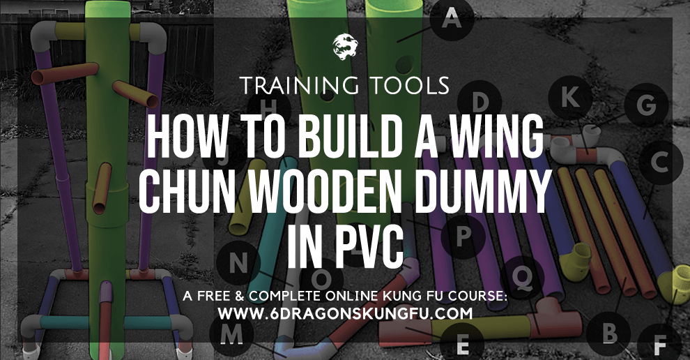 How to build a Wing Chun wooden dummy in PVC