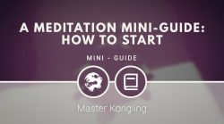 A meditation mini-guide: how to start