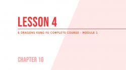 Lesson 4 – Poles training